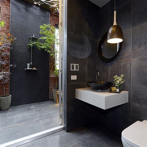 outdoor bathroom designs shop their looks the block bathroom reveals the