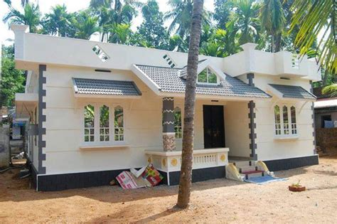home interior design low budget low budget kerala home design at kottayam with plan home