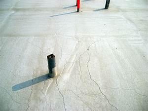 comment reparer dalle beton fissuree With reparer fissure dalle beton terrasse