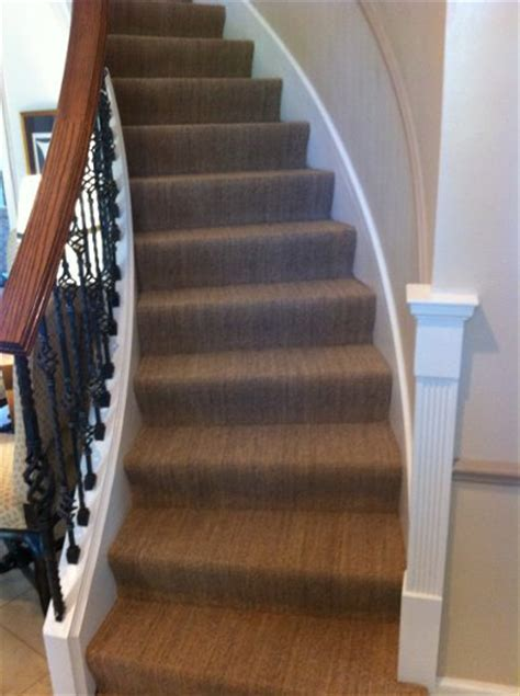 Glencoe   Stairway Carpeting   Lewis Floor and Home