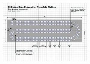 cribbage board template woodworking projects plans With cribbage board drilling templates