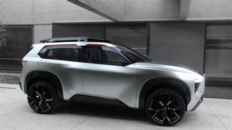 nissan xmotion concept smoothly blends sleek lines rugged