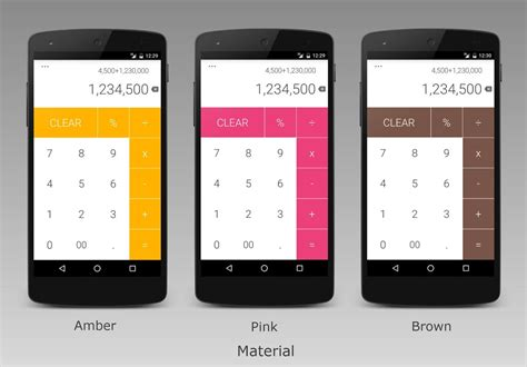 calculator is a sleek looking app with themes built in
