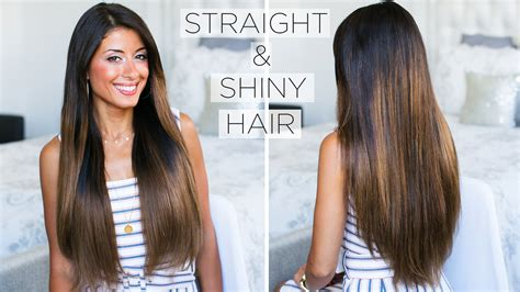 shiny straight hair ready set beauty