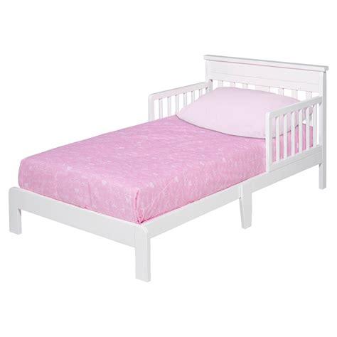 delta wooden toddler bed white
