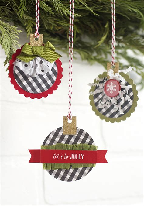 easy paper ornaments  fast  fun  tos