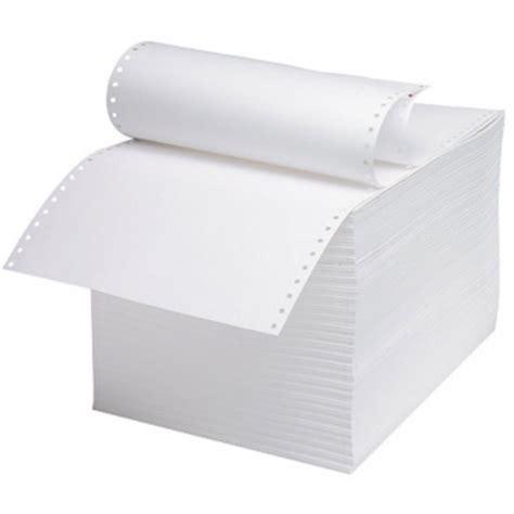 297 X 235mm Whitepinkyellow Computer Listing Paper 5764