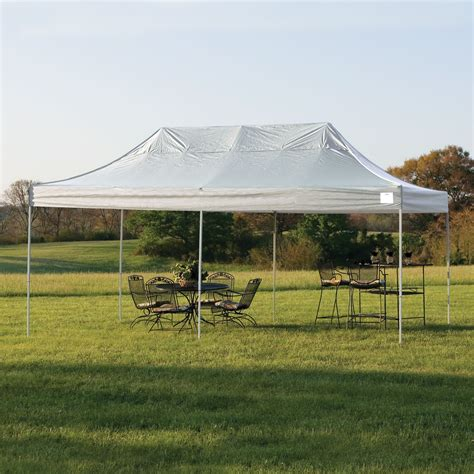 shelterlogic pop     truss pro tent  white cover