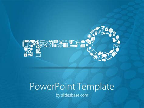 Success Powerpoint Templates Free by Key To Success Powerpoint Template Slidesbase