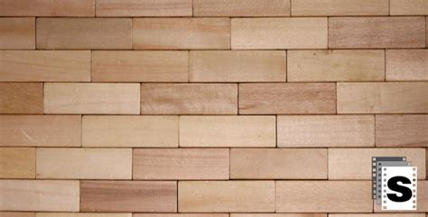 Wall Of Wooden Bricks By Stockfactory