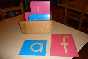 the guilletos playful learning november 2012 With montessori sand letters