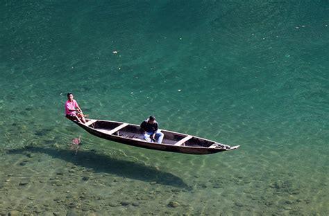 umngot river meghalayas unexplored crystal clear river