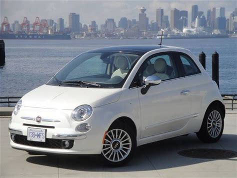 2012 Fiat 500 Lounge by Test Drive 2012 Fiat 500 Lounge Autos Ca