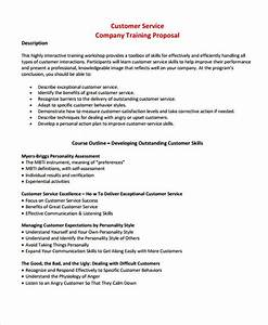 outstanding professional services proposal template With customer service template
