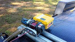 Wireless Remote Controlled Battery Powered Winch Video 2