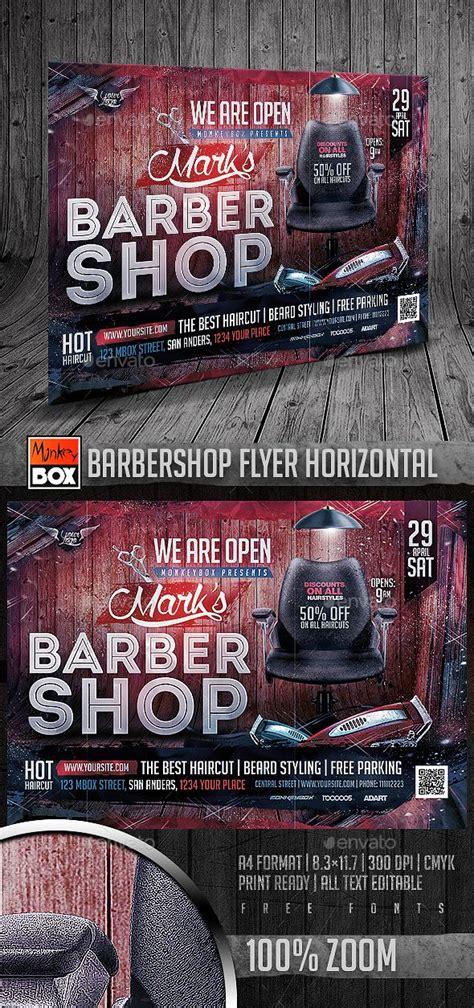 barbershop flyer horizontal  images flyer barber