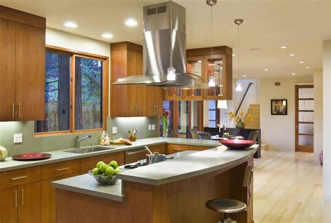 kitchen island with raised bar 4 types of kitchen range hoods to transform your kitchen