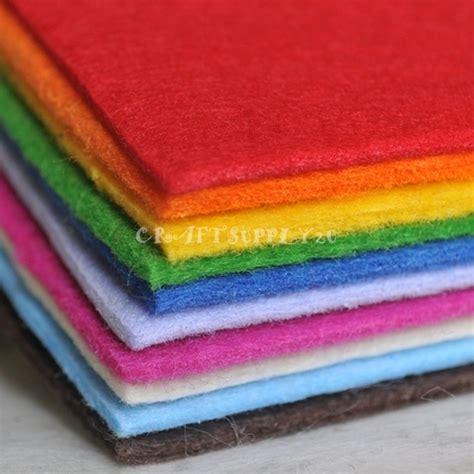 felt sheet craft ideas 1 polyester 3mm felt fabric sheet 30cm x 40cm free 4458