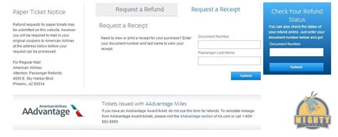 www.refunds.aa.com – How to request an American Airlines ...