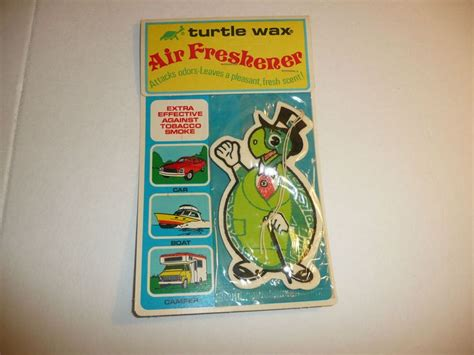 Boat Air Freshener by Vintage 1978 Turtle Wax Air Freshener New Sealed For Car