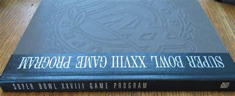 Lot Detail Super Bowl Xxvii 27 Hardcover Commorative