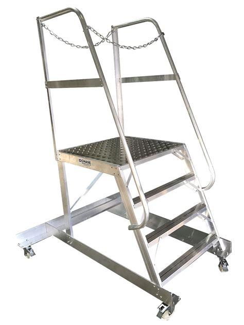 dekstar  folding work platforms chase ladders