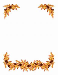 Fall Leaves Corner Border clipart