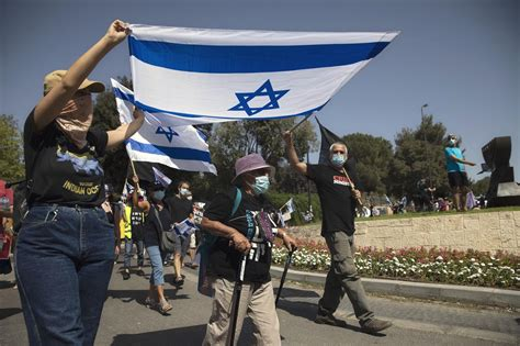 Israelis jam Jerusalem streets over bill to curb protests ...