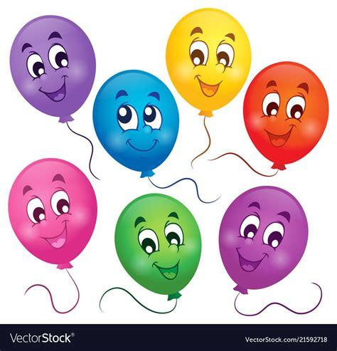 balloons theme image  vector image  vectorstock