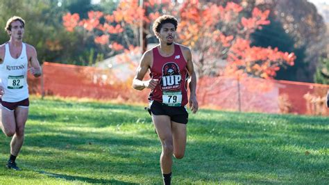 iup mens cross country finishes   doug watts duals