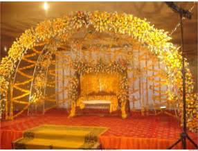 Cheap Wedding Decorations Online by Marriage Garden Designs India Greatindex Net Wedding Stage