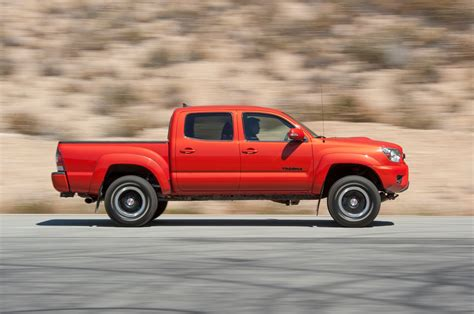 Tacoma is unchanged for 2015, although there is a new tacoma trd pro model available. 2015 Toyota Tacoma TRD Pro Supercharged Review - First ...