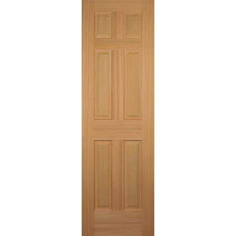 doors interior home depot builder 39 s choice 24 in x 80 in hemlock 6 panel interior