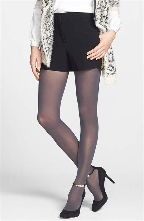 womens dkny light opaque control top tights