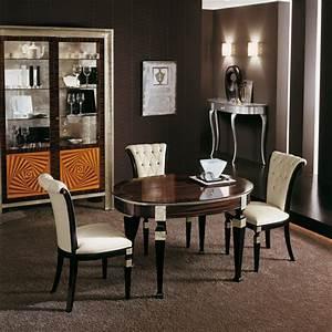 meubles contemporains meubles sur mesure hifigeny With salle À manger contemporaine avec objet deco chrome