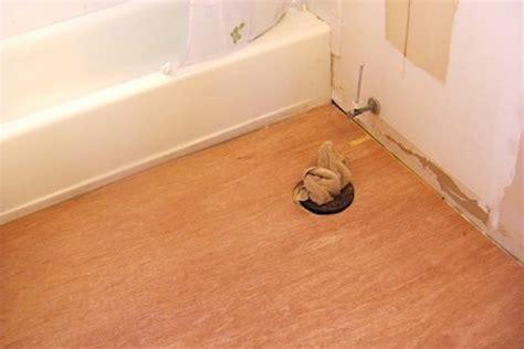 Underlayment For Vinyl Tile In Bathroom by How To Install Vinyl Plank Flooring Bob Vila