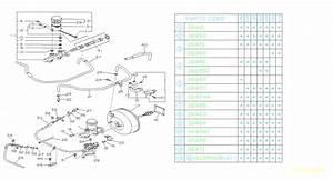 1992 Subaru Loyale O Ring-master Cylinder  System  Suspension  Brakes  Brake