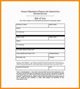 11 elegant collection of arkansas bill of sale form With as is vehicle bill of sale template
