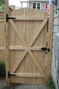 Wood Fence Gates Design