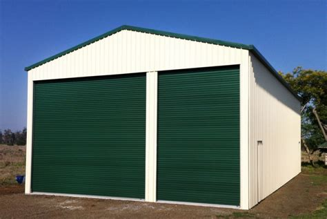 Timer Garage Brisbane by 9m Garage Shed Brisbane Shedzone