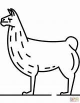 Llama Coloring Svg Pages Clipart Drawing Line Lama Printable Realistic Drawings Transparent Dot 53kb Ausmalen Zum Alpaka Webstockreview Categories Domain sketch template