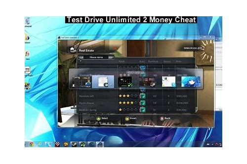 test drive unlimited 2 money cheat