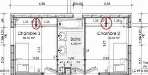 Dessiner des plans fonctionnels conseils thermiques for Amenagement chambre ado avec combien coute fenetre double vitrage
