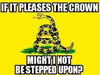 Crown Meme - might i not be stepped on if it pleases the crown know your meme