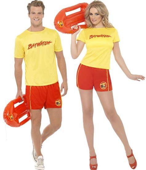 Couples Baywatch Beach Costumes | Online Joke Shop | Summer | Pinterest | Beach costumes Online ...