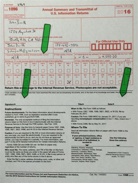 1096 Misc Form 2016 by What The Heck Is Quot Irs Form 1099 S Quot And Why Does It Matter