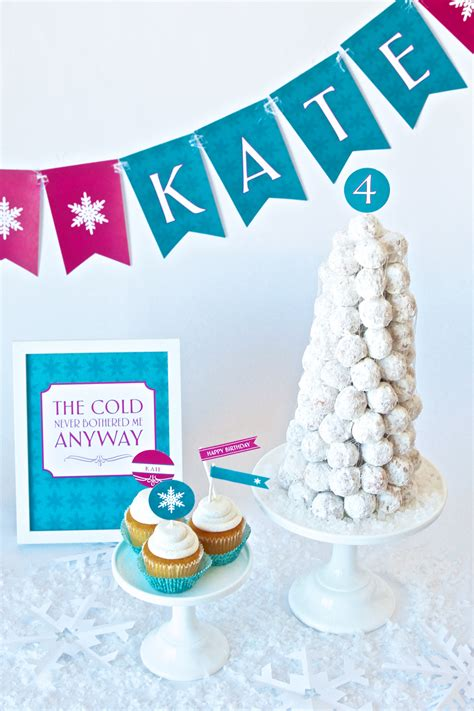 Frozen Birthday Party Ideas  Paging Supermom