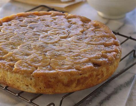 recette cuisine de grand mere gâteau renversé à la banane recette de grand mère