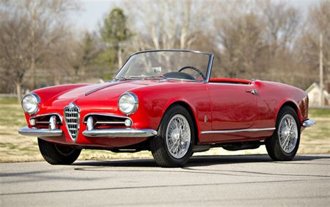 1959 Alfa Romeo Giulietta Spider  Gooding & Company