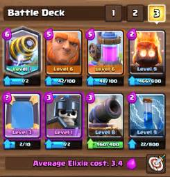 Top Decks Clash Royale by Clash Royale Best Sparky Deck For All Arenas Clash For